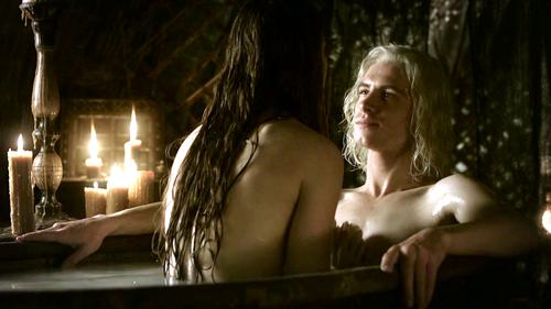 Viserys Targaryen and Doreah