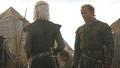 Viserys Targaryen and Jorah Mormont