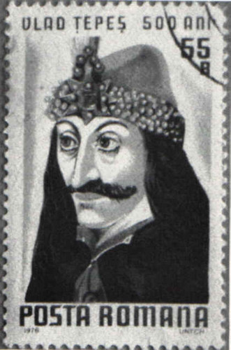 Vlad the Impaler वॉलपेपर called Vlad stamp
