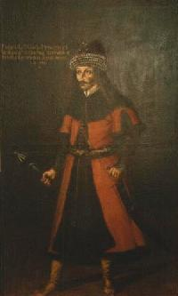 Vlad the Impaler Hintergrund possibly with a surcoat, wappenrock entitled Vlad
