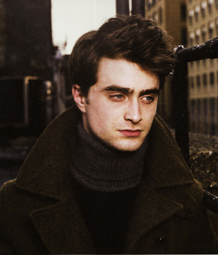 Daniel Radcliffe wolpeyper possibly with a kalye and a box amerikana titled Warwick Saint Photoshoot