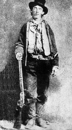 William H. Bonney - William Henry McCarty, Jr.-Billy the Kid -November 23, 1859 – c. July 14, 1881