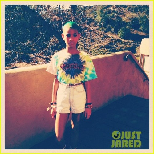 Willow Smith: Green Hair
