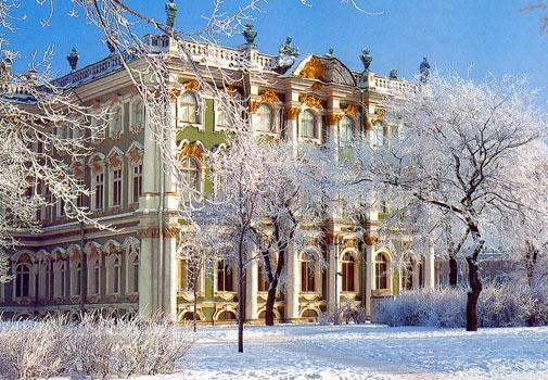 Russia winter palace