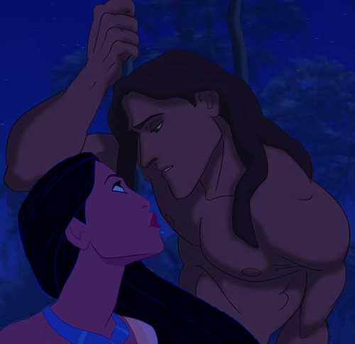 With anda - Pocahontas & Tarzan