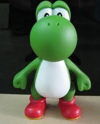 Yoshi karatasi la kupamba ukuta titled Yoshi Figurine