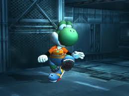 Yoshi Striker in SSBB
