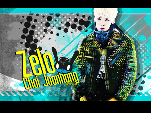 B.A.P 바탕화면 possibly containing a 음악회, 콘서트 and 아니메 titled Zelo