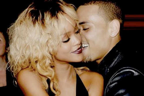 Chris Brown wallpaper possibly containing a portrait called chris and rihanna