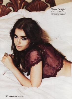 cosmopolitan - march 2012 - Lily Collins Photo (29585788) - Fanpop