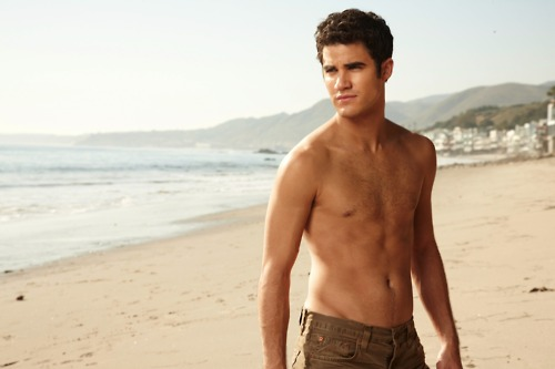 Darren Criss wallpaper possibly containing swimming trunks and a hunk titled darren