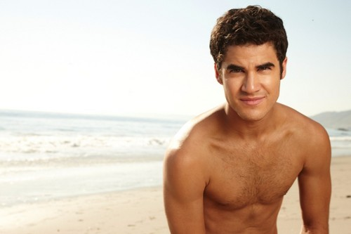 Darren Criss kertas dinding possibly with skin titled darren