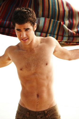Darren Criss wallpaper possibly containing a hunk, a six pack, and skin entitled darren