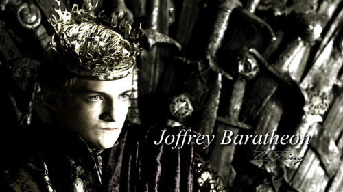 Game of Thrones wallpaper possibly containing a street titled Joffrey Baratheon
