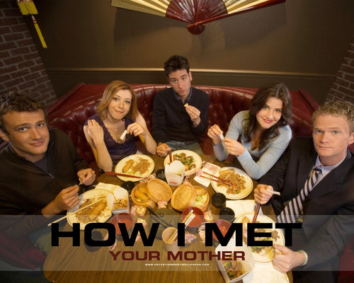 テレビ 壁紙 containing a brunch, a tamale, and a lunch titled how i met your mother
