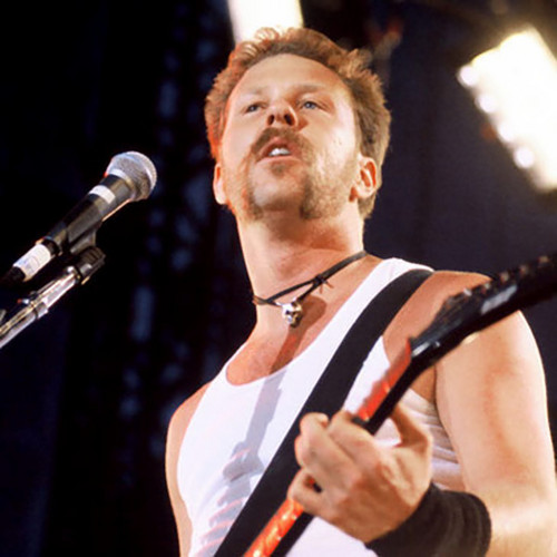 James Hetfield fond d'écran containing a concert, a guitarist, and a le batteur, batteur entitled james hetfield