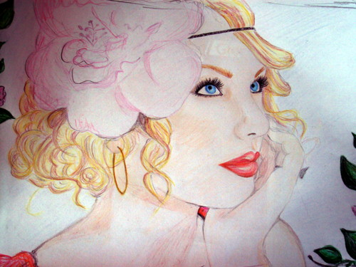 my taylor rápido, swift drawings<3