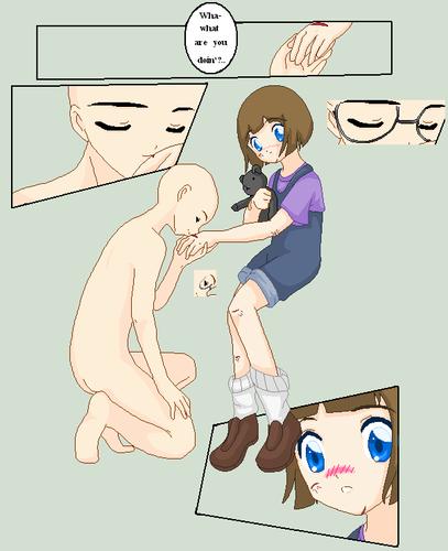 open collab: kiss her hand (manga/comic)