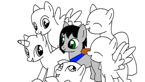 open collab: my little gppony, pony