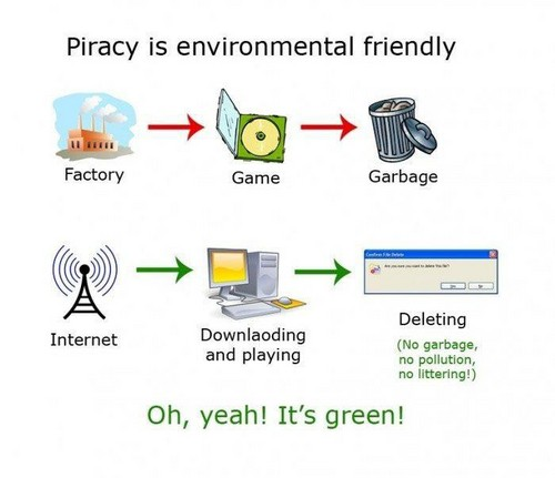 piracy... it's green!