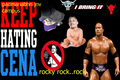 rock vs john cena - dwayne-the-rock-johnson photo