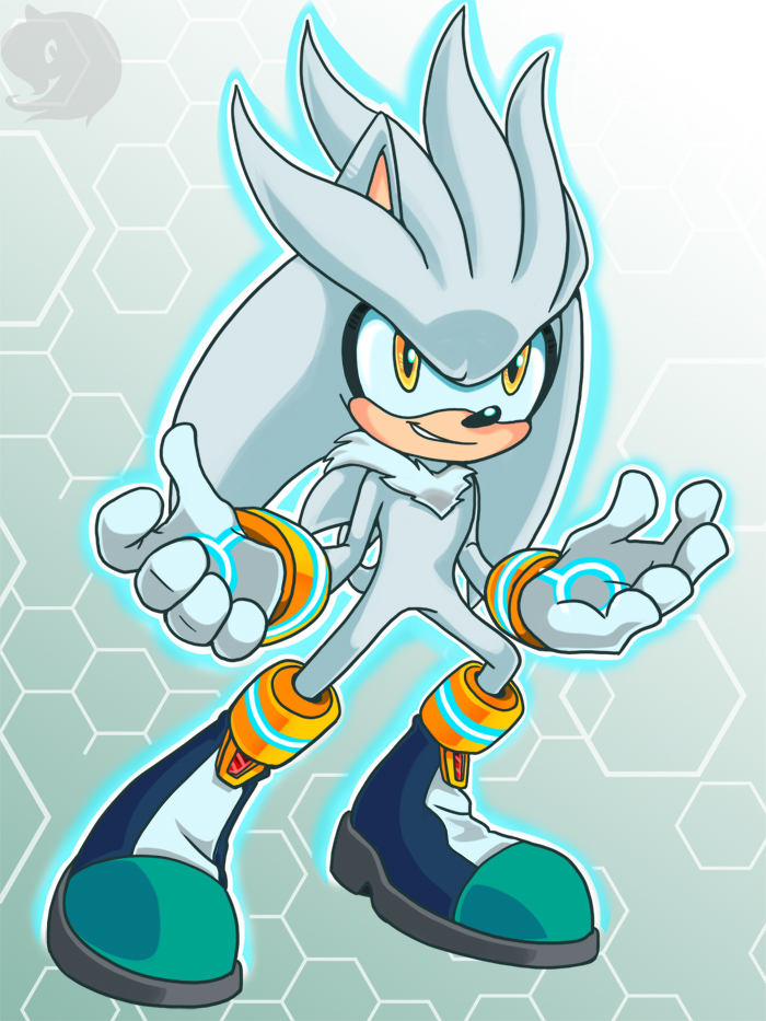 Silver the Hedgehog silver