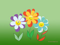 smiley flowers - blirk-net-kate-net-and-sl-designs wallpaper