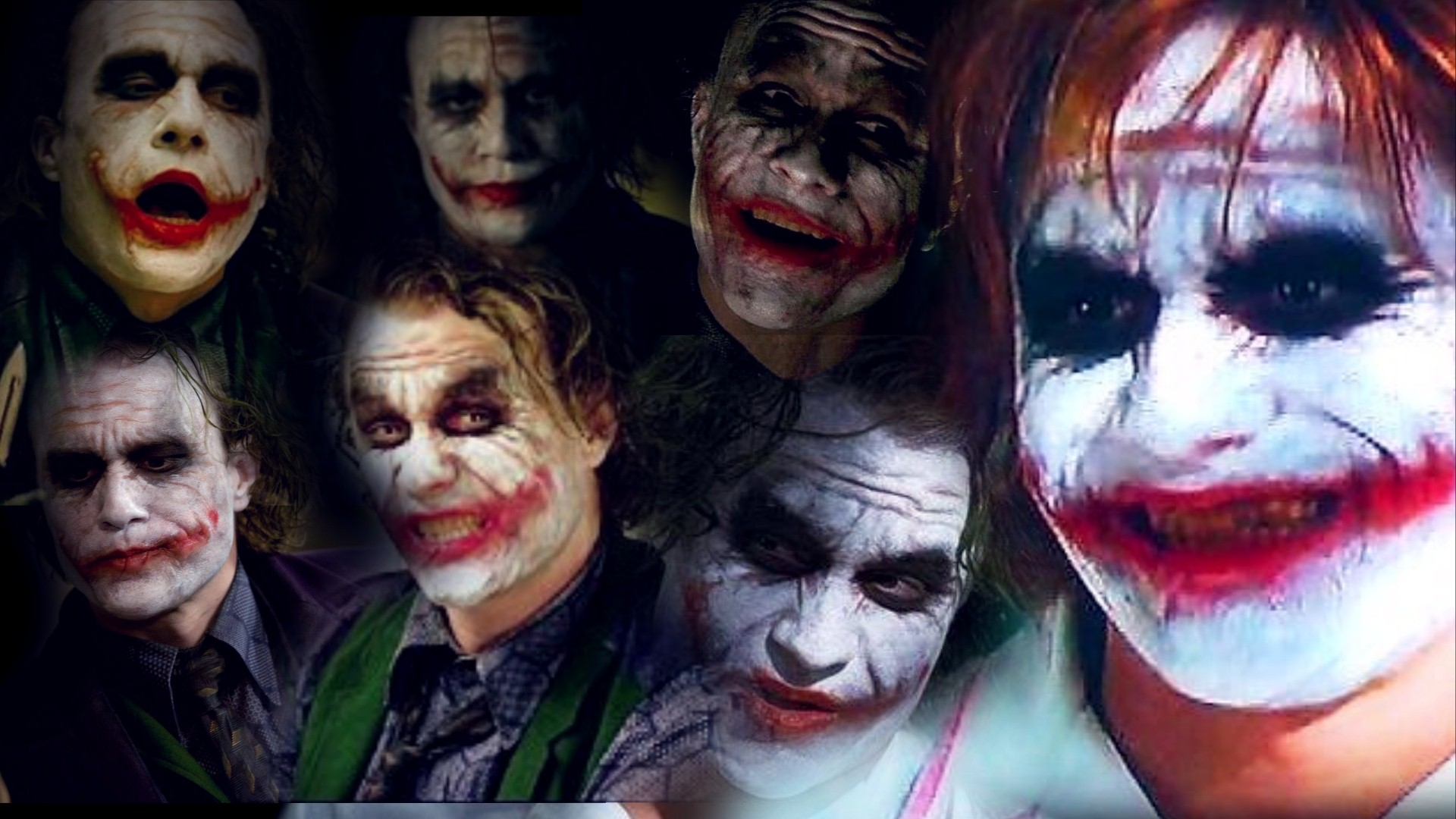 Coleccion The Joker (El guason - Heath Ledger)