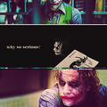 why so serious? - the-joker fan art