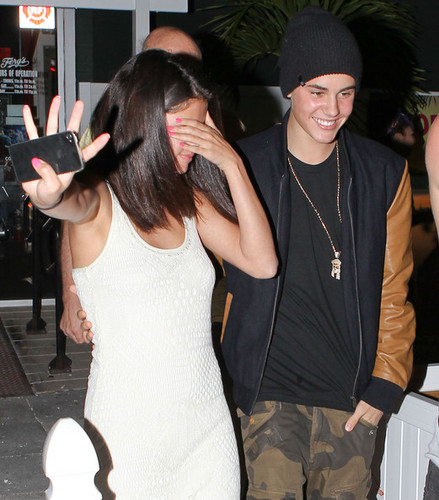 Bieber, Selena Gomez, Ashley Benson and Ryan Good Florida on March 11, 2012
