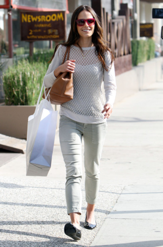 Jordana - Actress out shopping at Intermix in Beverly Hills, CA, September 22, 2011