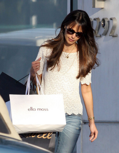 Jordana - Out and About in Beverly Hills, February 9, 2012