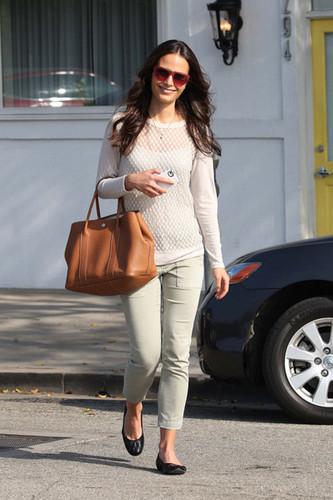 Jordana - at a Salon in LA, September 21, 2011