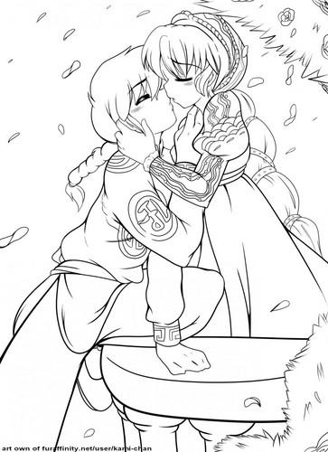 (Ranma 1/2) Ranma & Akane _ Любовь