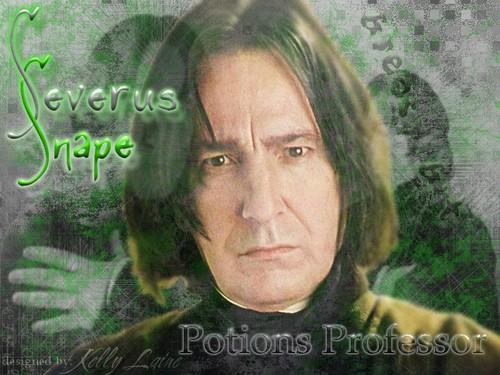 Severus Snape wallpaper probably containing a portrait called ☆ Severus Snape ☆