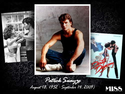 Patrick Swayze wallpaper possibly with a sign, a newspaper, and anime titled !!