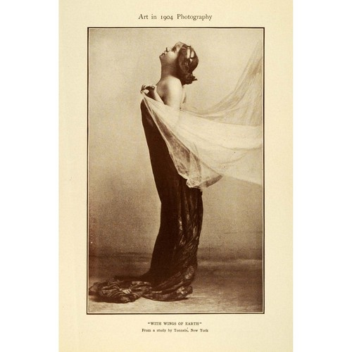 1904 Fashion Photography - vintage Photo