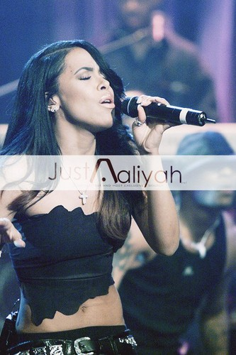 AALIYAH performing on jay Leno Show! Just-Aaliyah.Net Exclusive! HQ