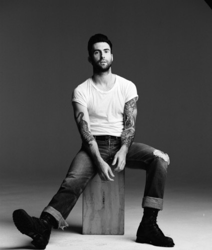 Adam Levine wallpaper probably with a hip boot entitled Adam