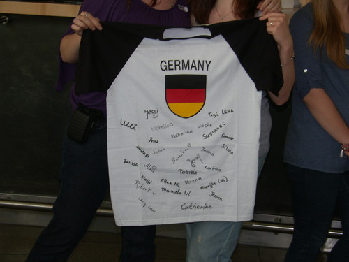 Alex T-shirt from Germany. :D