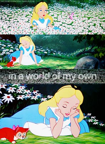 Alice in Wonderland - tagahanga Arts