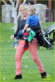 Amy Poehler & Will Arnett: Park Playtime with Archie & Abel - amy-poehler photo