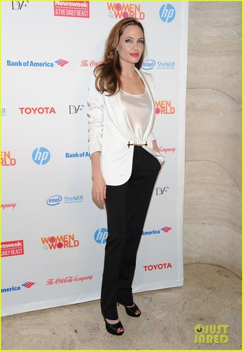 Angelina Jolie: Women in the World Summit - Watch Now - angelina-jolie Photo