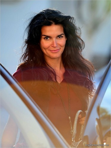 Angie Harmon out and about in L.A.