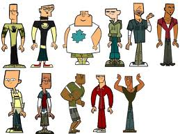 Total Drama Island wallpaper probably containing a bell called Bald much? lol!