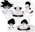 Bardock and his crew - bardock-and-king-vegeta fan art