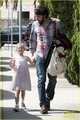 Ben Affleck Brings Violet to Ballet Class