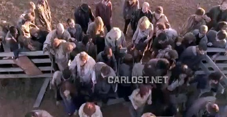 The Walking Dead Hintergrund called Beside the Dying feuer Promo Pics