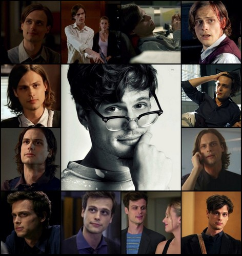 Birthday Collage with Reid-Centric Episodes