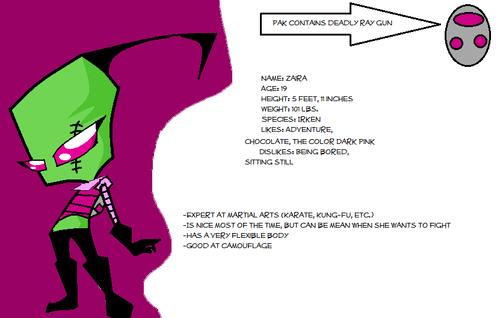 Blood Sport Reference: Invader Zaira